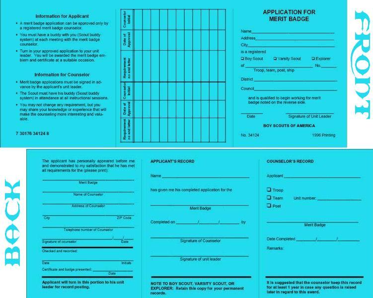 Blue Cards | BSA Troop 74