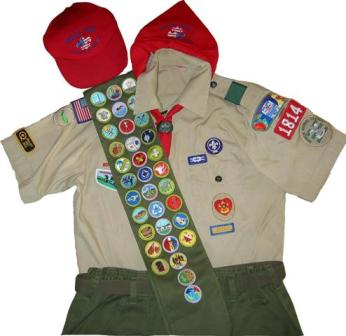 Used Scout Uniform 86